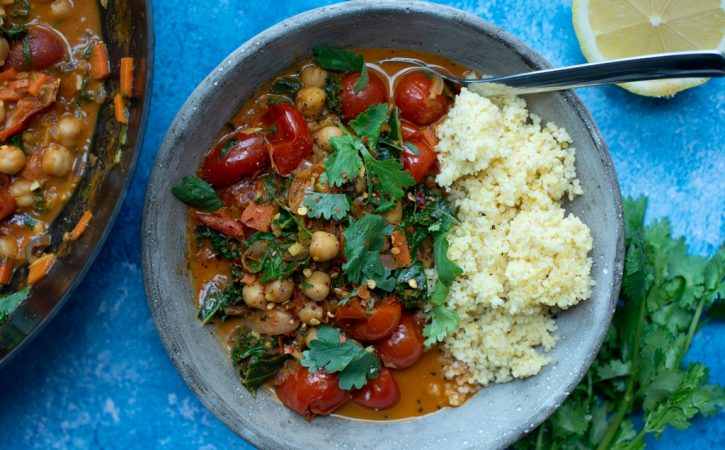 curry med kikerter