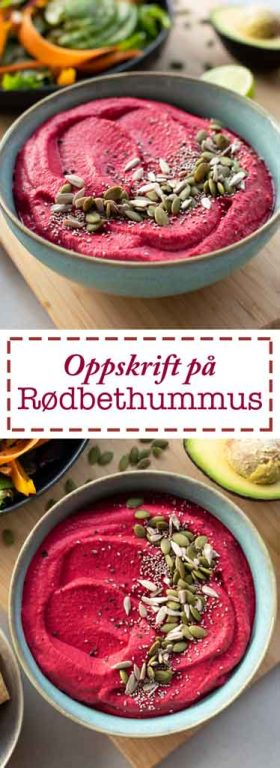 rødbethummus